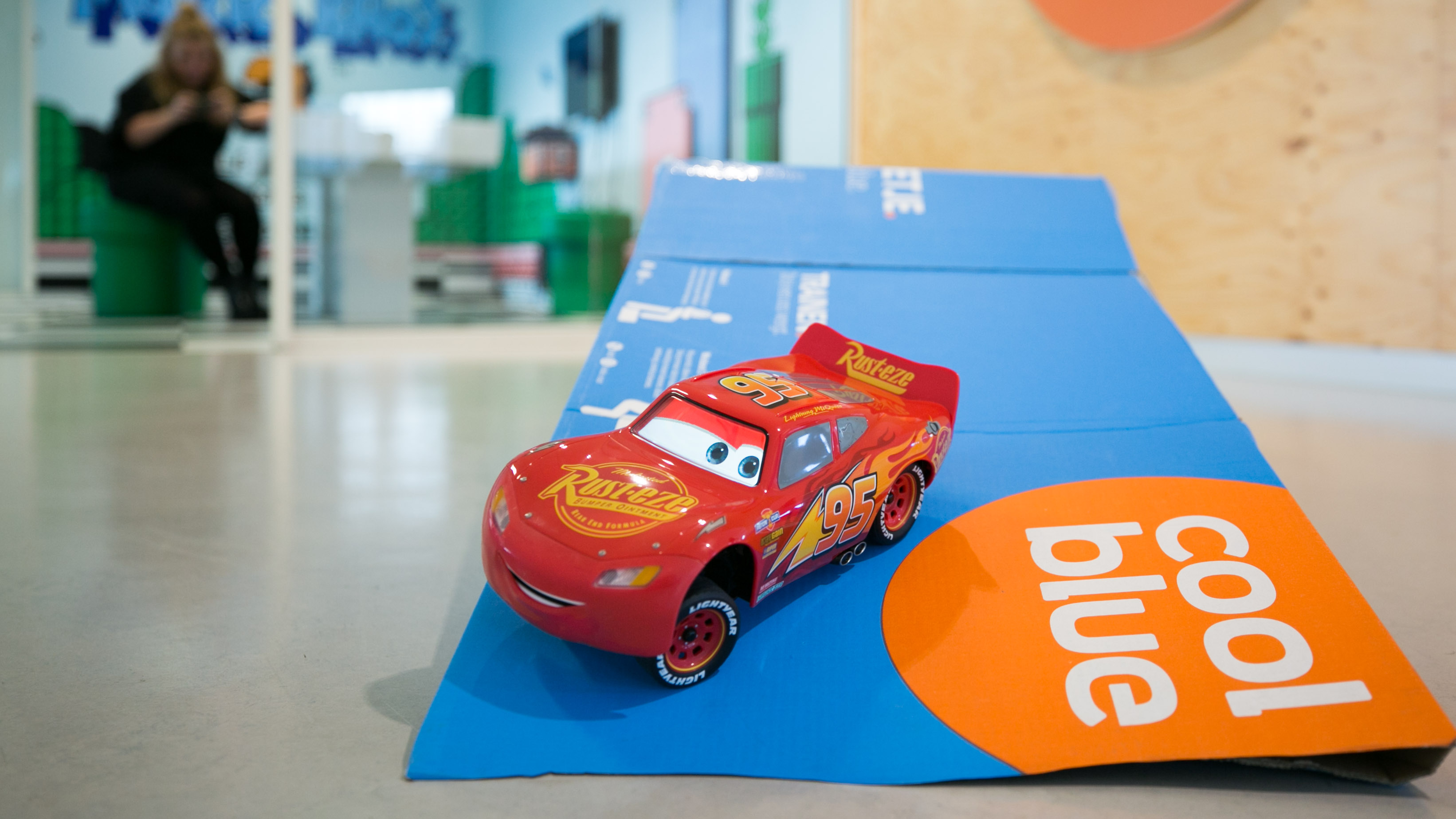 Vinden we cool: Sphero Lightning McQueen